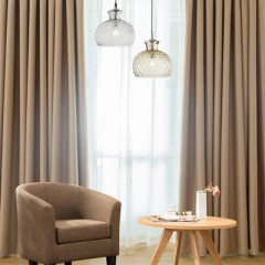 Solid Thermal Blackout Curtains